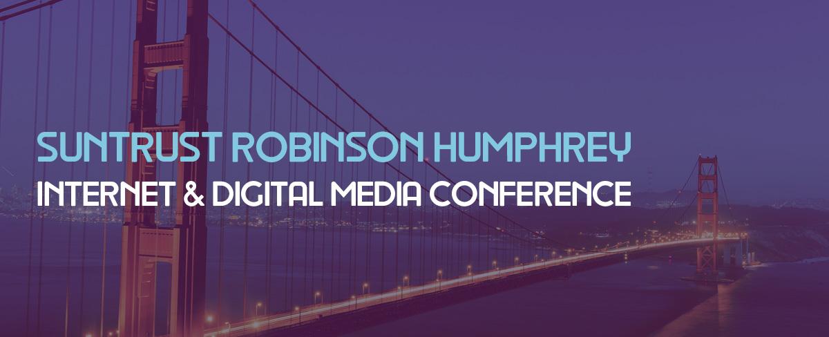 IZEA to Speak at the SunTrust Robinson Humphrey Internet & Digital Media Conference on May 10, 2016