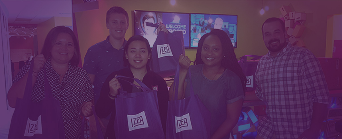 IZEAcares donates 'back to school' supplies to UCP of Central Florida
