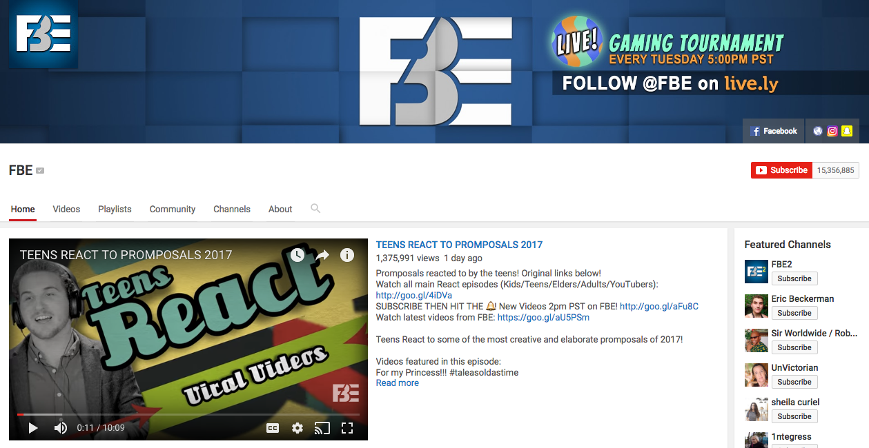 The Fine Bros Top YouTube Influencer