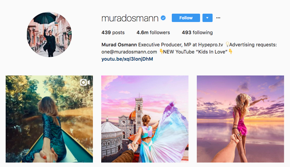 Murad Osmann Instagram Influencer