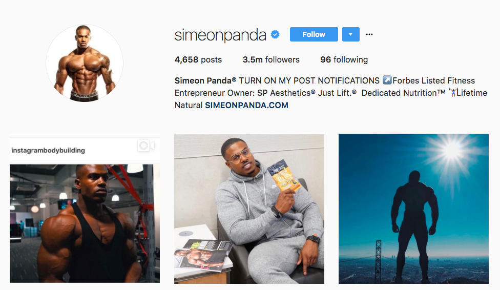Simeon Panda Top Instagram Influencers
