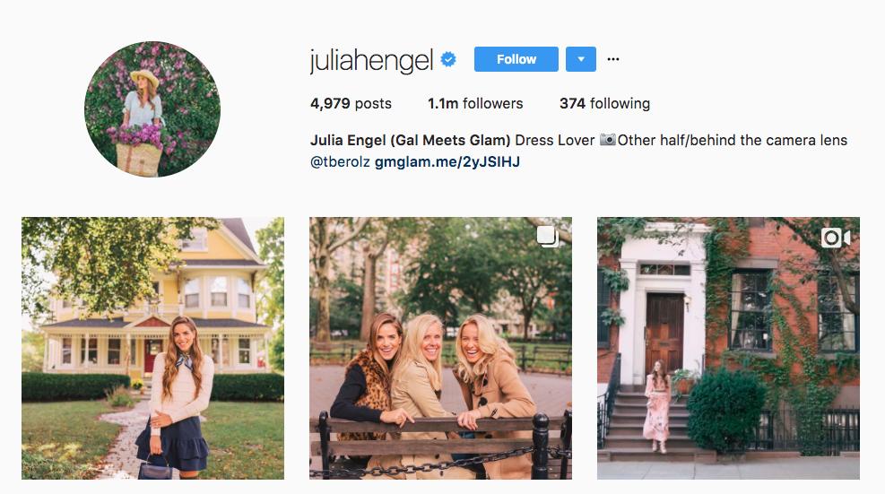 Julia Engel Instagram Influencer